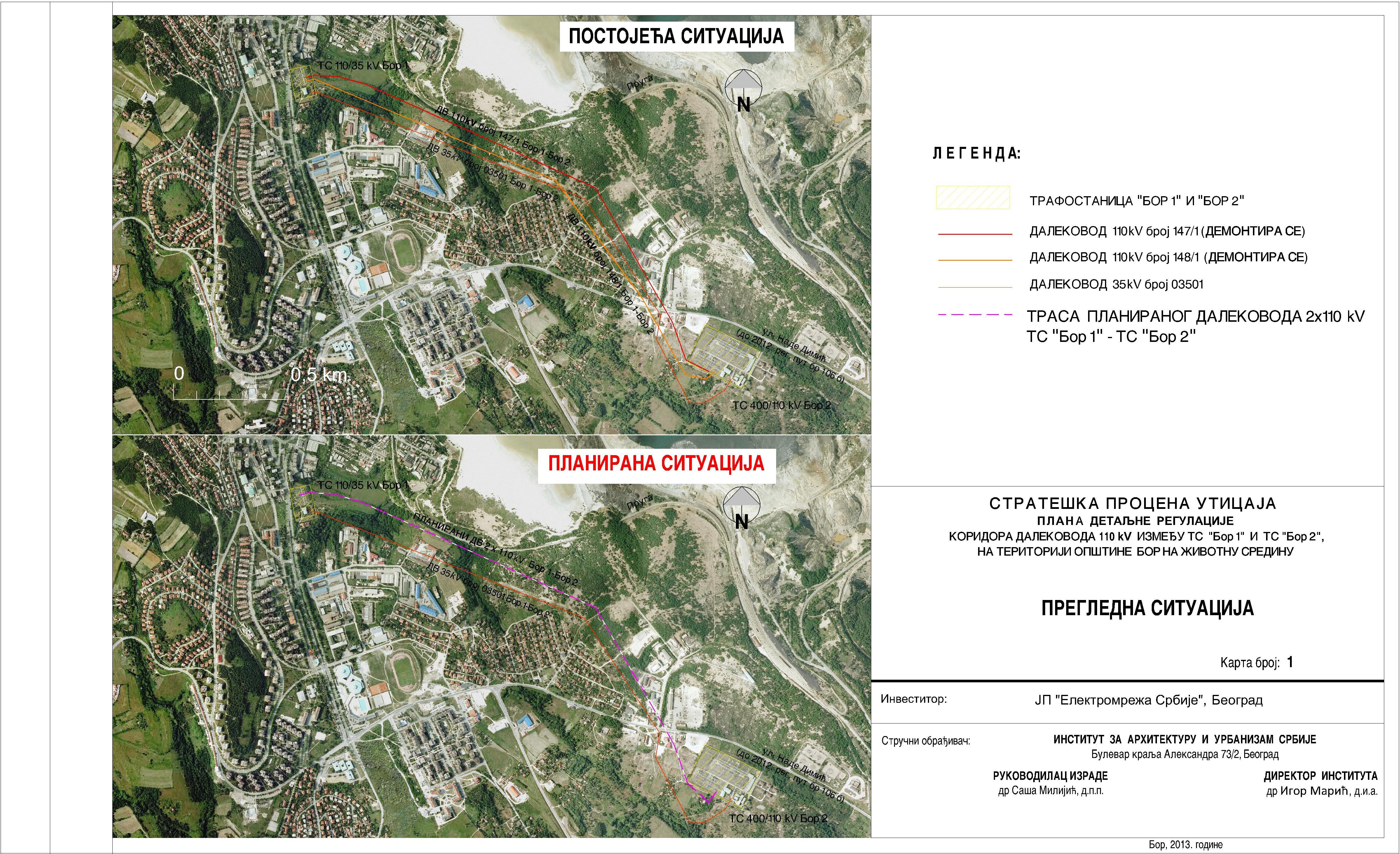 Urbanisticki Planovi Grad Bor